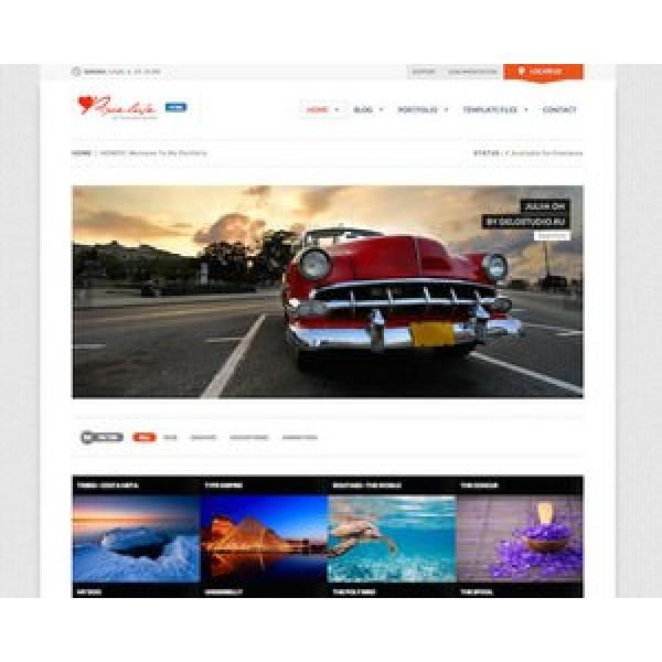 Web Sitesi HTML-CSS Tema PIXELOVE