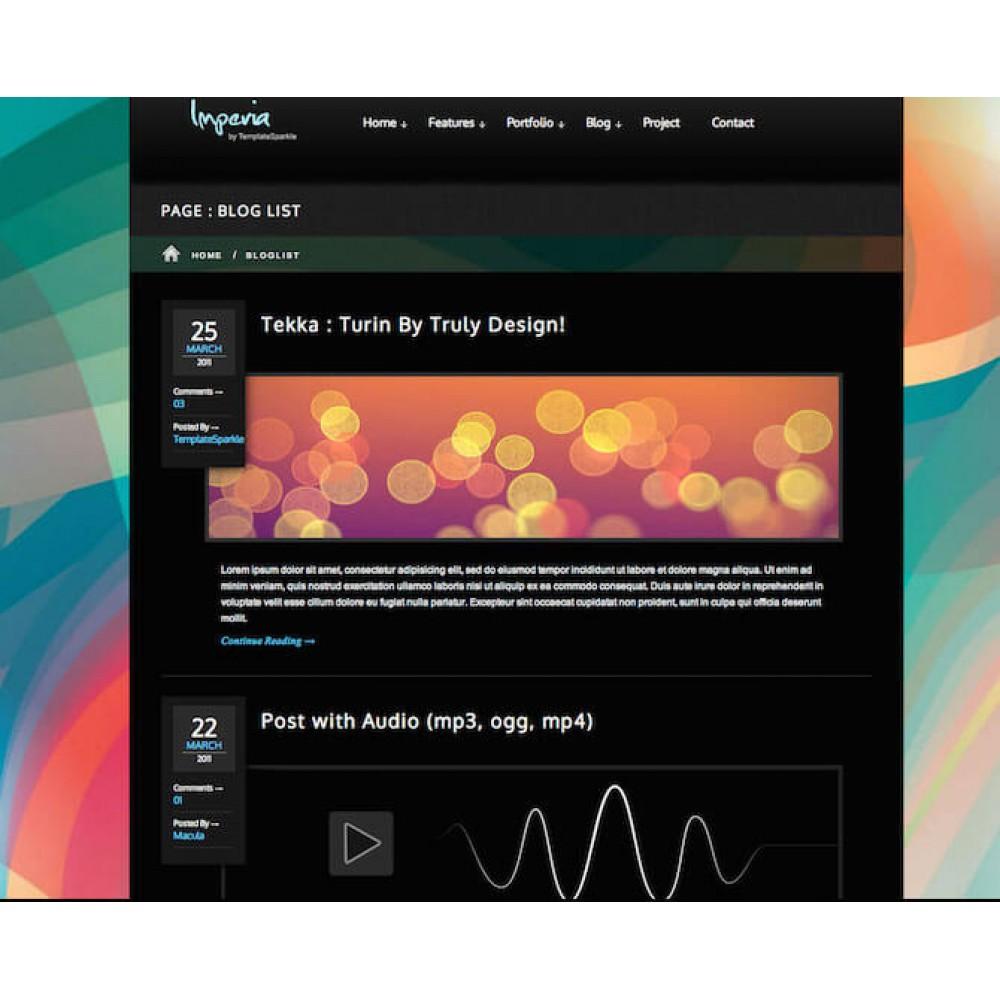 Web Sitesi HTML-CSS Tema IMPERIA