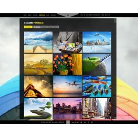 Web Sitesi HTML-CSS Tema JPHOTO