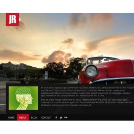 Web Sitesi HTML-CSS Tema JRPHOTOGRAPHY
