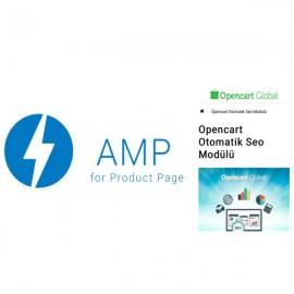 Opencart AMP SEO Modülü