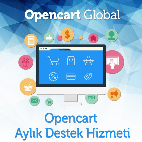Opencart Aylık Destek Hizmeti