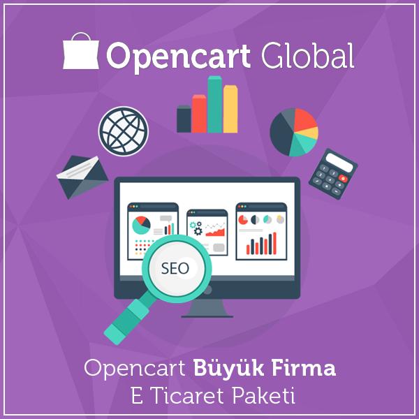 Opencart Büyük Firma E Ticaret Paketi