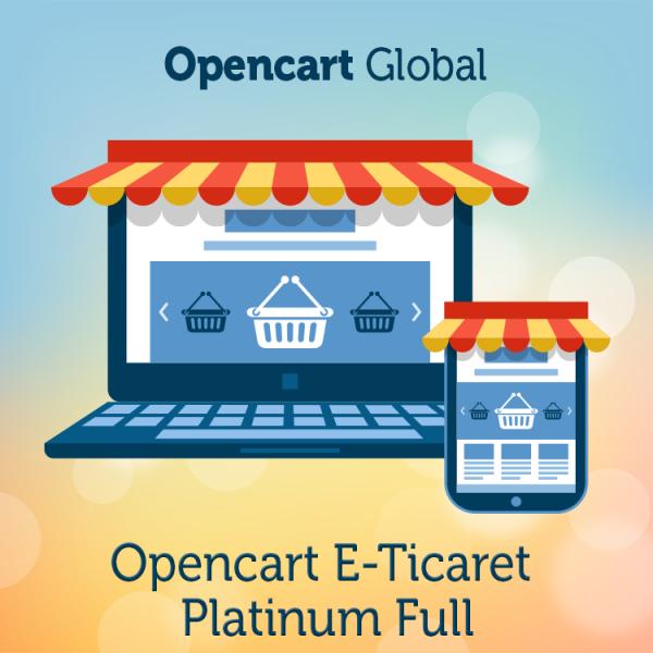 Opencart E Ticaret Platinum Full