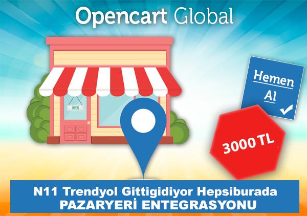 Opencart Pazaryeri Entegrasyonları