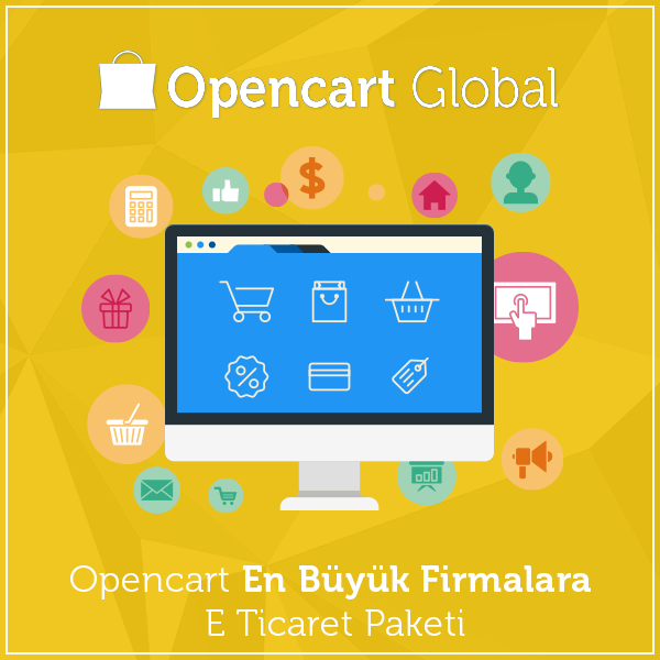 Opencart En Büyük Firmalara E Ticaret Paketi