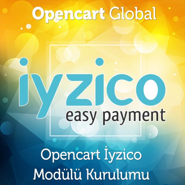 Opencart İyzico Kredi Kartı Modülü Kurulumu