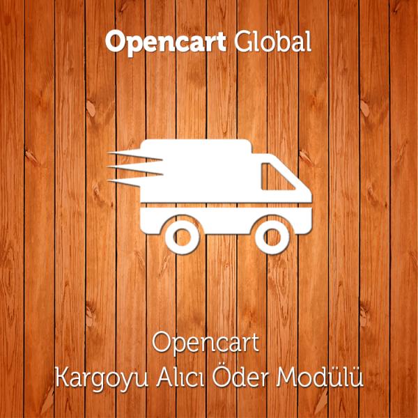 Opencart Kargoyu Alıcı Öder Modülü