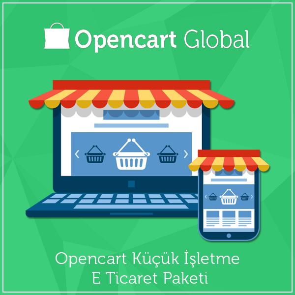Opencart Küçük İşletme E Ticaret Paketi