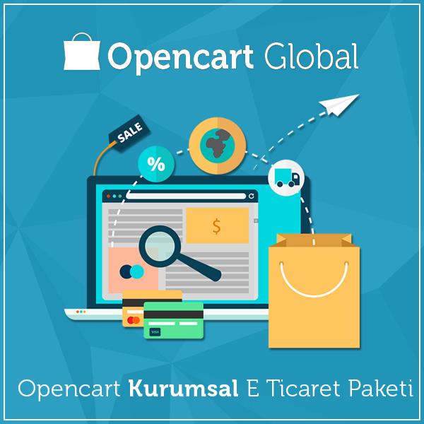 Opencart Kurumsal E Ticaret Paketi