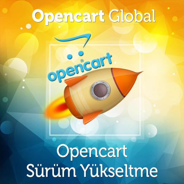 Opencart Sürüm Yükseltme Hizmeti