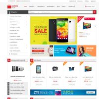 Opencart Alışveriş Teması Shoppy Store