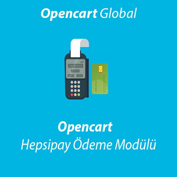 Opencart Hepsipay Ödeme Modülü