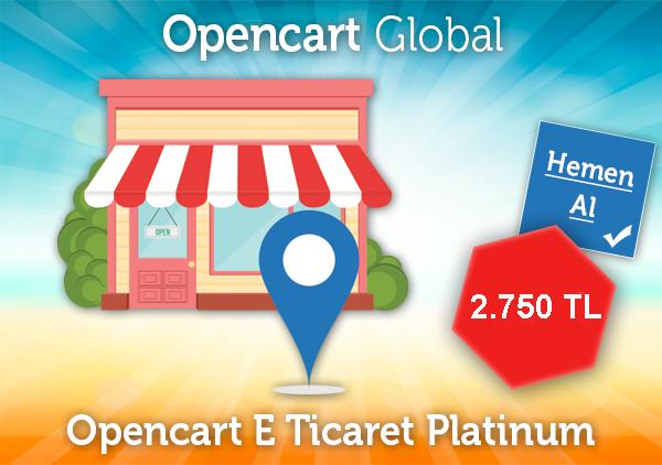 Opencart E Ticaret Platinum