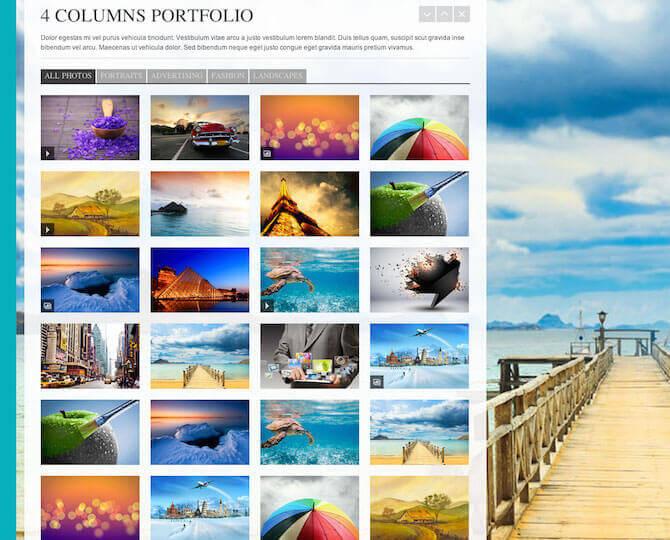 Web Sitesi HTML-CSS Tema HQ PHOTOGRAPHY