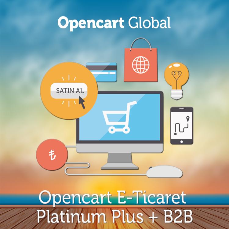 Opencart E Ticaret Platinum + B2B