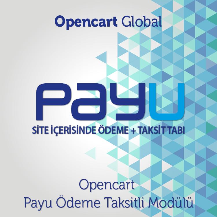 Opencart Payu Ödeme Taksitli Modülü