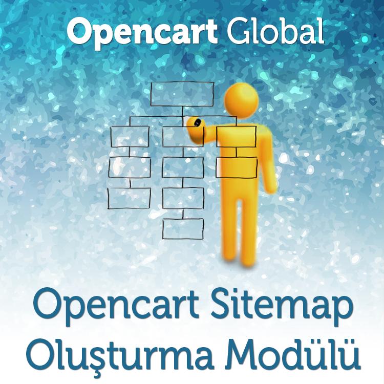Opencart Google ve Yandex Sitemap Oluşturma Modülü